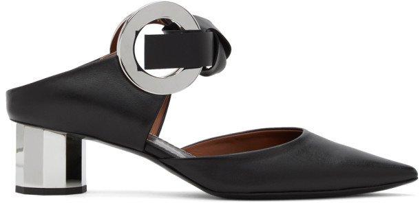 Black Grommet Heel