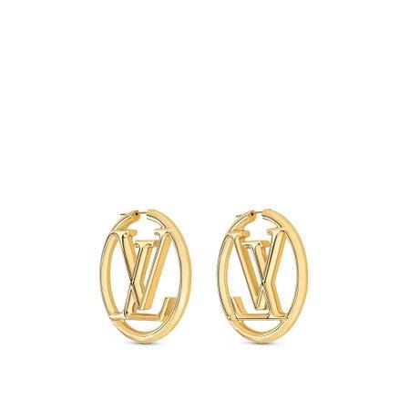 Louise Hoop Earrings - Accessories | LOUIS VUITTON ®
