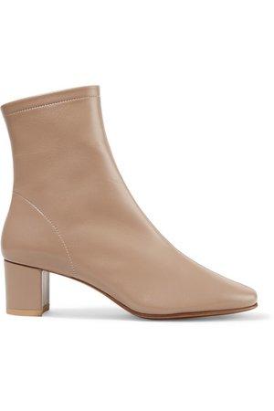 BY FAR | Sofia Sock Boots aus Leder | NET-A-PORTER.COM