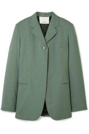 3.1 Phillip Lim | Wool-blend crepe blazer | NET-A-PORTER.COM