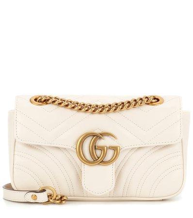 Gg Marmont Mini Leather Crossbody Bag   Gucci - mytheresa