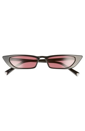 KENDALL + KYLIE Vivian 51mm Extreme Cat Eye Sunglasses | Nordstrom