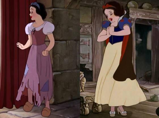 Snow White Brown Dress