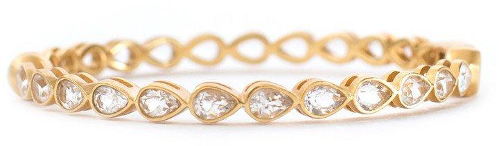 Christina Greene Posy Crystal Bangle Bracelet