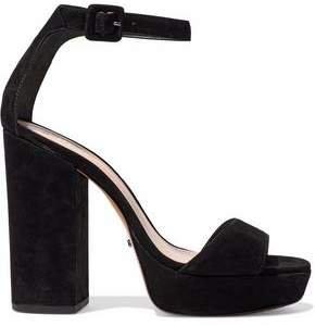Mikella Suede Platform Sandals