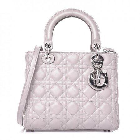CHRISTIAN DIOR Medium Lady Dior bag