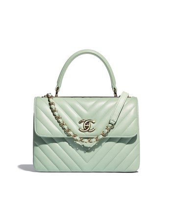 mint green Chanel