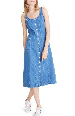 Madewell Button Front Denim Dress | Nordstrom