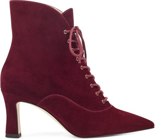 Callah Lace Up Booties