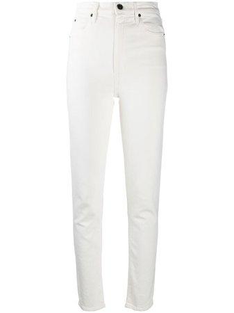 Slvrlake High Rise straight-leg Jeans - Farfetch