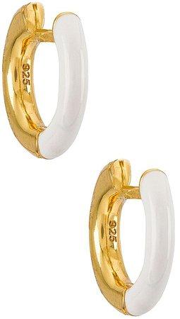 Sage 18k Gold Vermeil Earrings