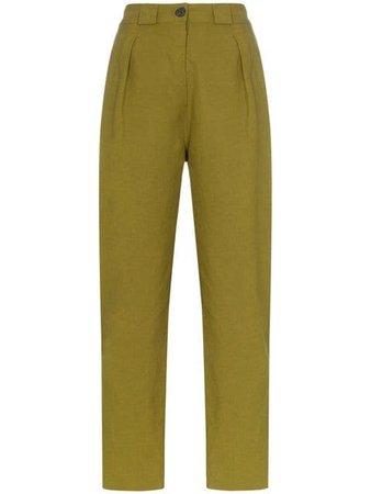 Mara Hoffman брюки прямого кроя с завышенной талией - Купить в Интернет Магазине в Москве   Цены, Фото.