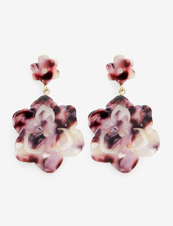 Double Magnolia Drop Earrings – Draper James