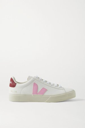 Campo Leather Sneakers - White