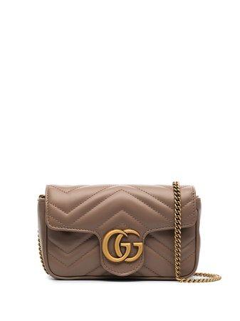 Gucci мини-сумка GG Marmont - Farfetch