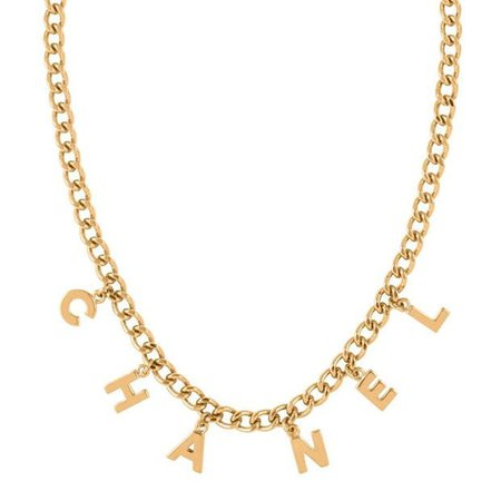 CHANEL VINTAGE Chan Letter Chain Ld01   Cruise Fashion