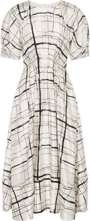 Aje Infinite Linen-Blend Dress