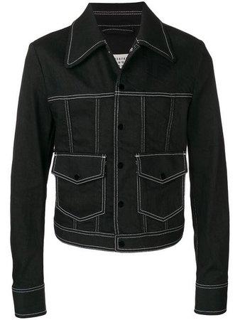 Maison Margiela fitted denim jacket