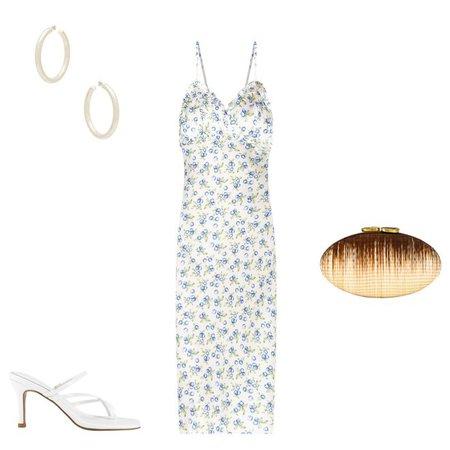 Song of Style Essie Midi Dress im Blueberry Tart | REVOLVE