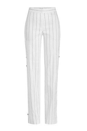 Snapped Pants in Linen Gr. US 4