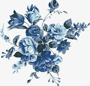 navy blue flowers - Google Search