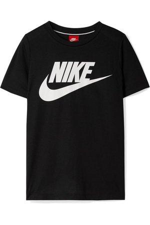 Nike | Essential printed stretch-jersey T-shirt | NET-A-PORTER.COM