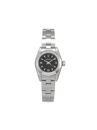 Rolex 1996 pre-owned Oyster Perpetual Lady 26mm - Farfetch