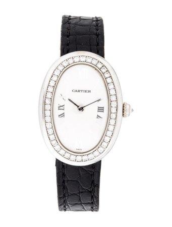 Cartier Baignoire Watch - Strap - CRT43648 | The RealReal