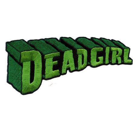 Dead Girl Embroidered Iron On Patch Officially Licensed | Etsy