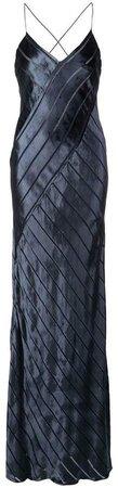 bias cut gown