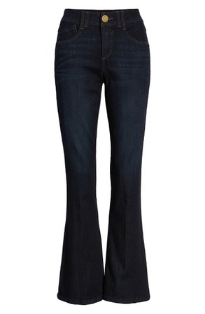 Wit & Wisdom Ab-Solution Itty Bitty Bootcut Jeans (Regular & Petite) (Nordstrom Exclusive) | Nordstrom