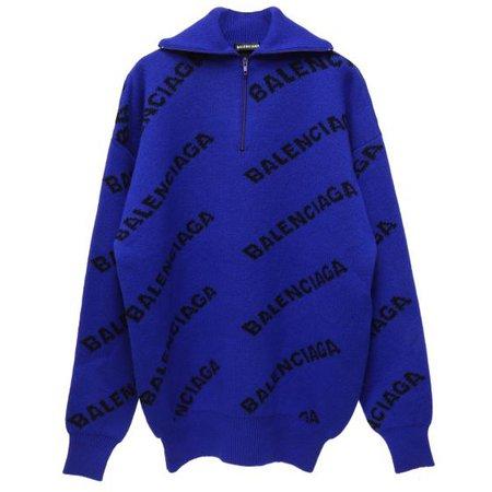 BALENCIAGA T1473/TOP / 4369 : ELECTRIC BLUE