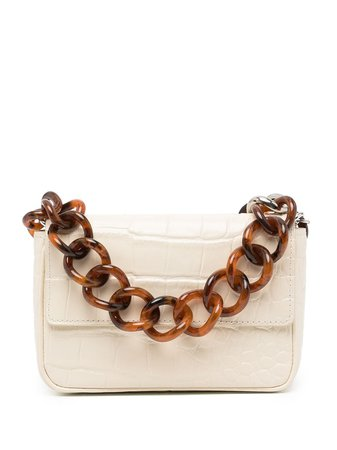 Shop STAUD crocodile-effect leather mini bag with Express Delivery - FARFETCH