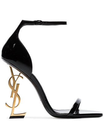 Saint Laurent Opyum 110Mm Ysl Heel Sandals Ss20 | Farfetch.com