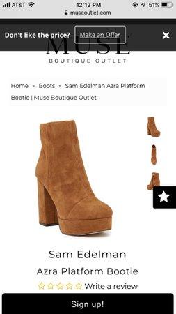Sam Edelman Azra Platform Bootie
