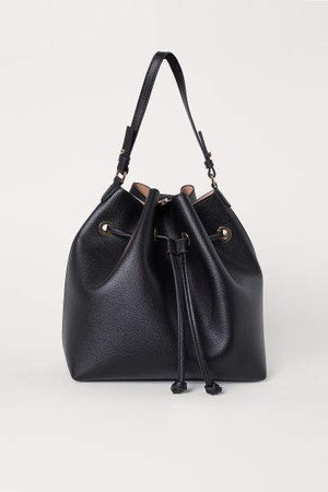 Large Bucket Bag - Black