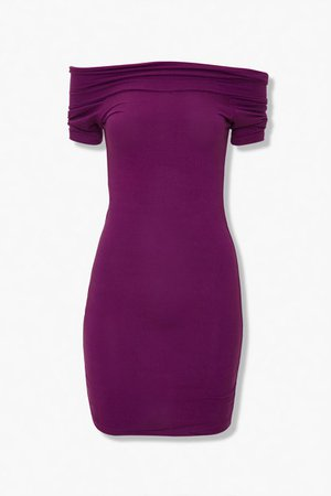 Off-the-Shoulder Bodycon Dress | Forever 21