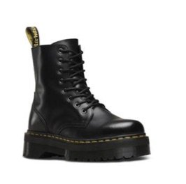 black Dr. Martins boot style