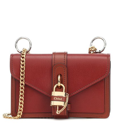 Aby Leather Shoulder Bag - Chloé   Mytheresa