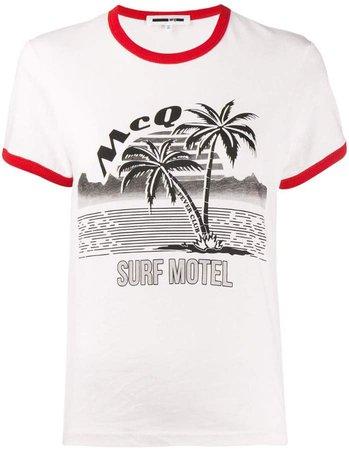Surf Motel print T-shirt