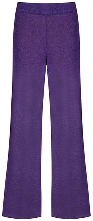 Ionara glitter metallic trousers