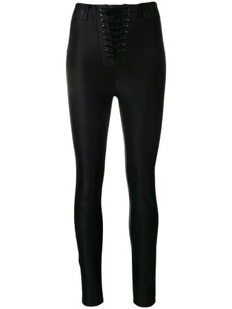 Unravel Project lace-up leggings $1,095 - Buy Online - Mobile Friendly, Fast Delivery, Price