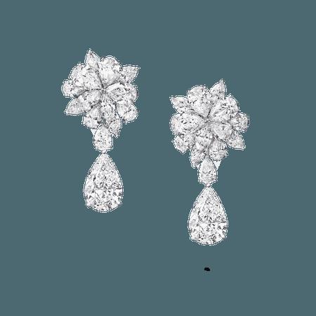 Diamond Earrings, 50.33 cts | Graff