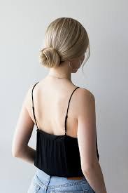 low bun hairstyle - Google Search