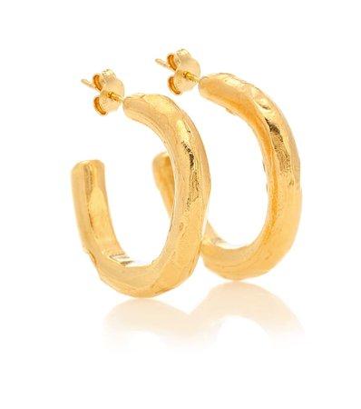 The Etruscan Reminder 24Kt Gold-Plated Hoop Earrings - Alighieri | Mytheresa