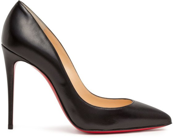 Pigalle Follies 100 black leather pumps