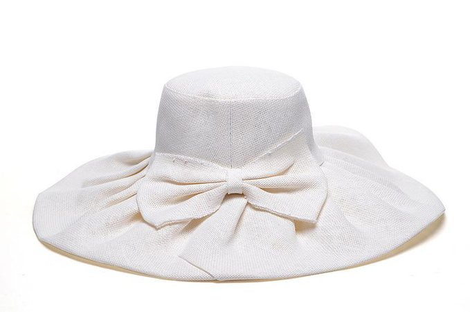 Ladies Womens White Bow Wide Brim Sun Hats Wholesale Kentucky Derby Wedding Church Party Summer Beach Hat Fashion Street Caps Cap Bowler Hat Panama Hat From Hat_is_dancing, $17.09  DHgate.Com