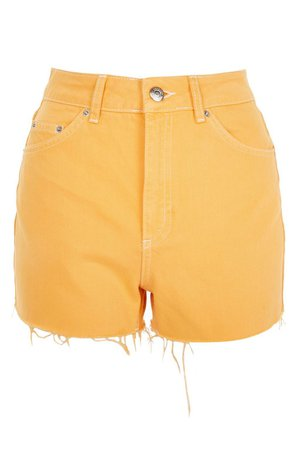 High Waist Mom Shorts - Topshop USA