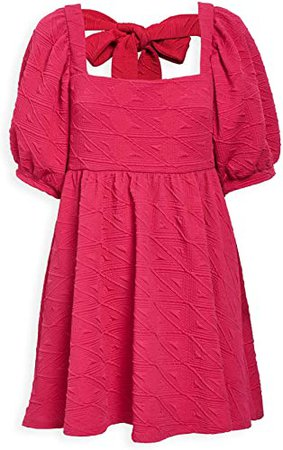 Free People Women's Violet Mini Dress, Fuchsia, Pink, X-Small at Amazon Women's Clothing store