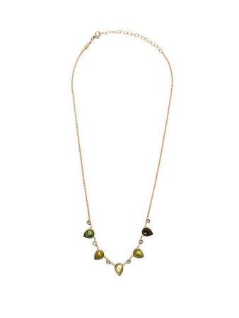 Gold, tourmaline & diamond necklace | Jacquie Aiche | MATCHESFASHION.COM US